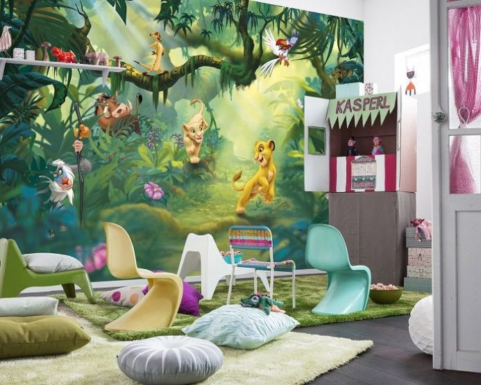 Lion King paper wallpaper by Homewallmurals